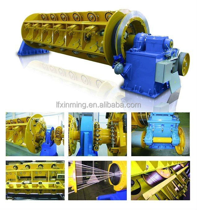 Cable making equipment for tubular stranding machine/ twisting equipment