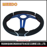 Wholesale customized good quality three spoke steering wheel