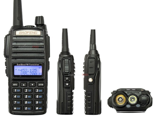 Baofeng uv82 buy direct from china manufacturer two way radio 2w/1w power shift fm radio