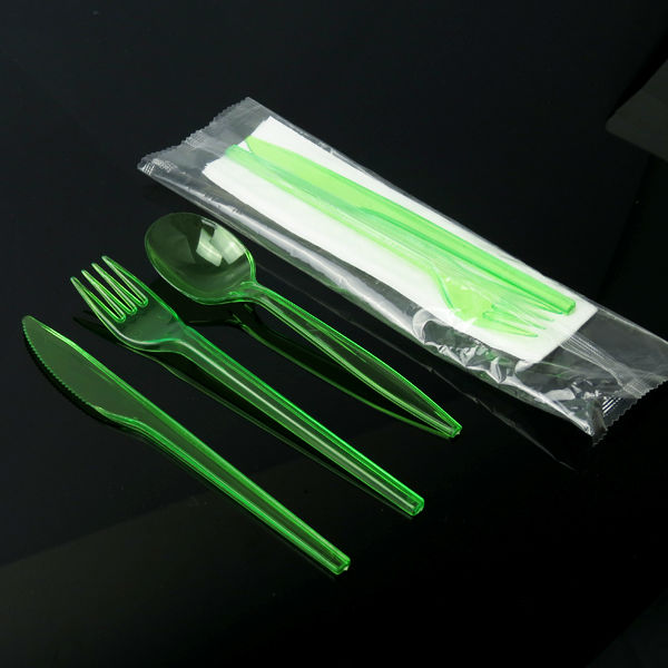 plastic cutlery spork knife fork spoon