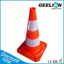 Orange Traffic Cone Economy Type Pvc Traffic Cone