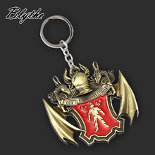 Promotional hot sale custom design acrylic metal keychain with best price