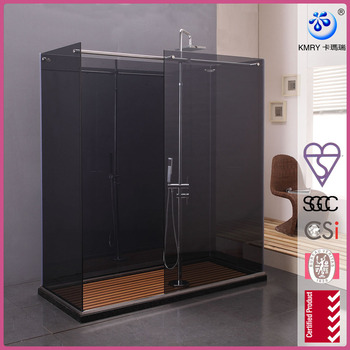 304 sainless steel Walk-in Shower Enclosure (KD8007)