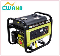 2015 hot sale! Good performance elemax 2kw generator ohv manual scrap copper wire Portable 168F With CE Gasoline Generator
