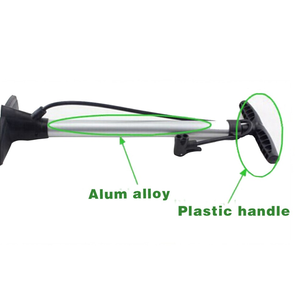 2016 Newest High Quality Bicycle Hand Alloy Air Hand Pump AV/FV Compatible Pump