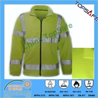 EN 11612 EN 1149 Modacrylic cotton polar Fleece Jacket