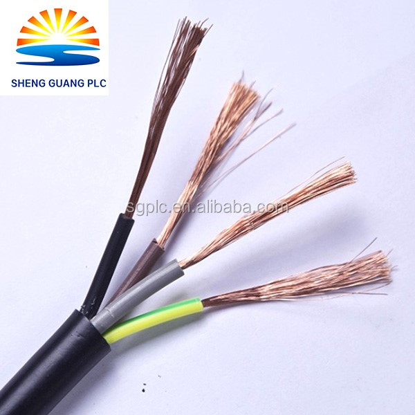 Quality Products Manufacturers electric wire 3 core flexible high temperature teflon cable