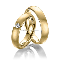 titanium wedding bands yellow gold rings womens nepal gold plated jewellery