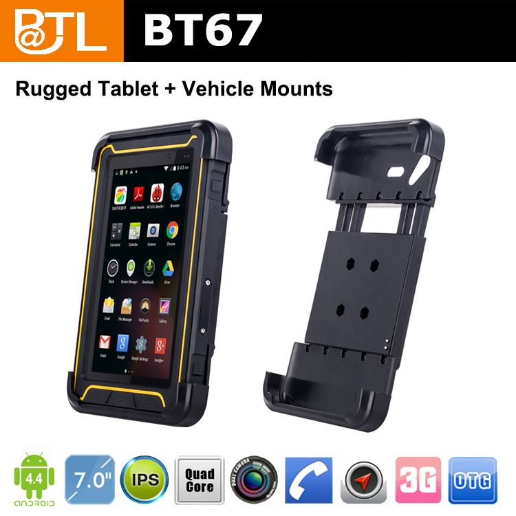 BATL BT67 MO0107 MTK6582 OGS 3G android 4.2 rugged tablet pc 3G G8030 car tracking