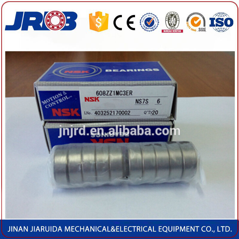 Original Japan nsk high precision ball bearing 608z for skateboard in wholesale price