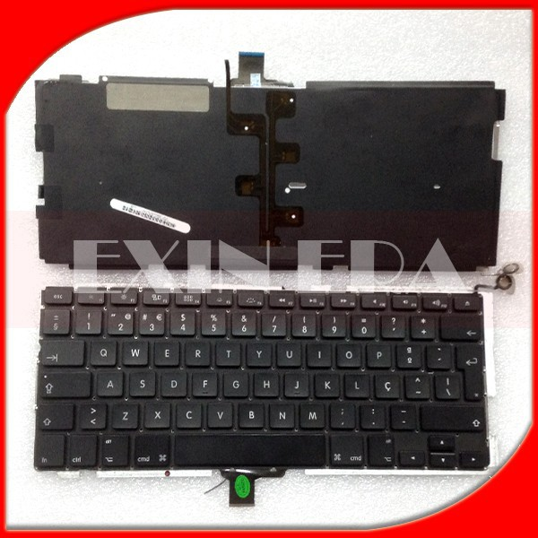 "Genuine NOR Norway Norwegian Norsk tastaturet Keyboard Backlit Backlight for Macbook Pro 13"" A1278 2009 2010 2011 2012 Year"