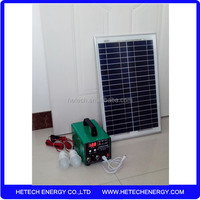 Hot new products for 2016 solar power system 20w for small home
