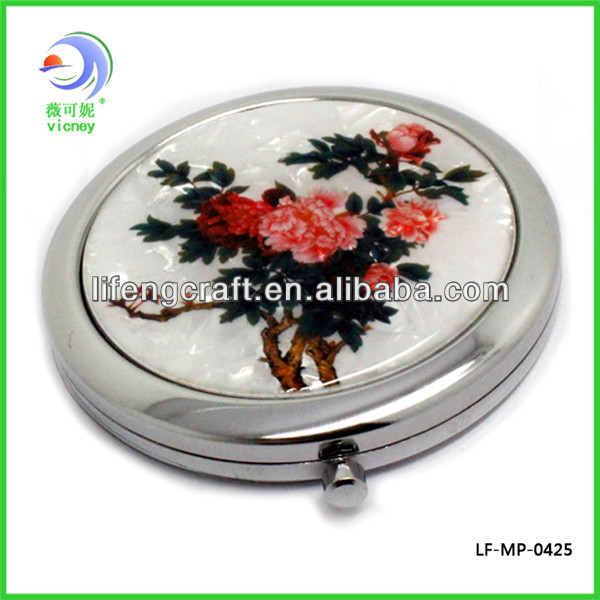 yiwu mirror factory ornate small decorative mirror(LD-107)