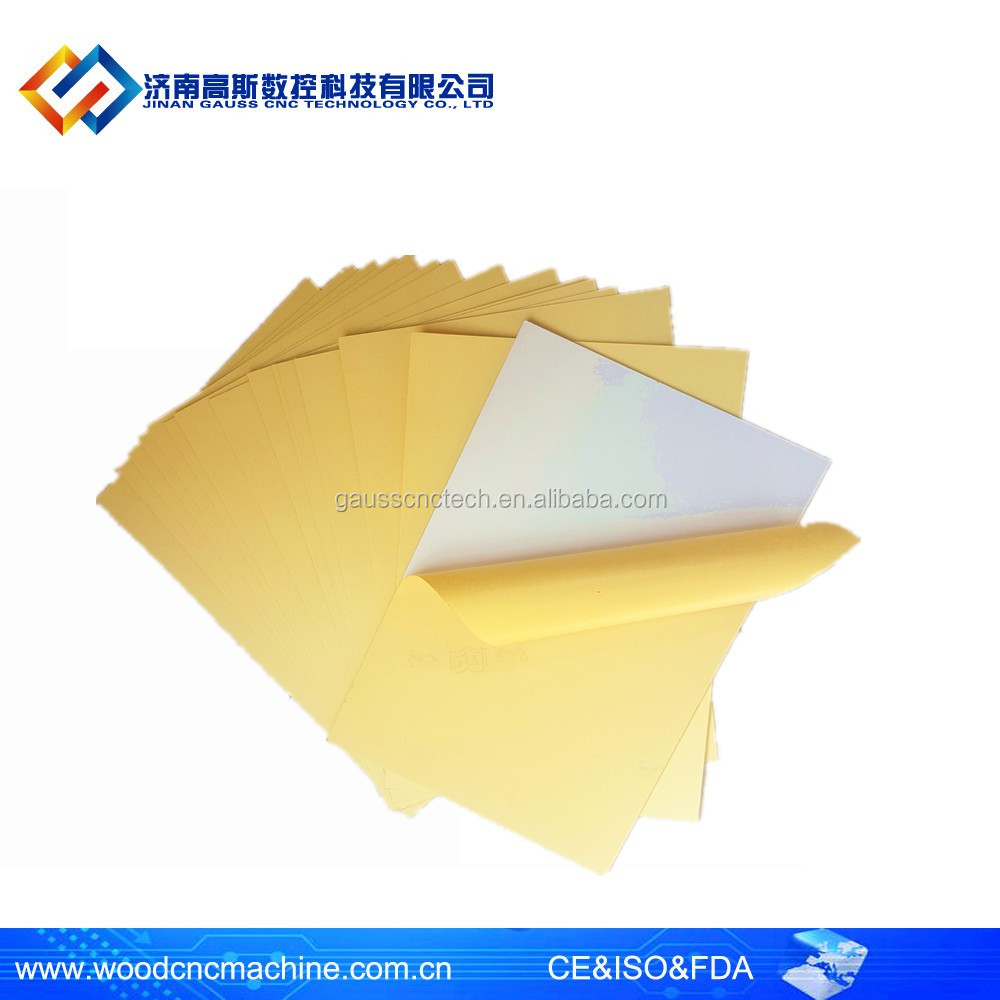 Shandong Wholesales Adhesive photo book PVC sheet hot sale white & black pvc sheets for making album for wholesales