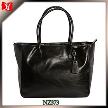 Black Patch Leather Handbag european shoulder bag for woman hobo sling shoulder bag