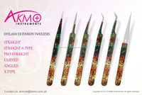 Well Made Eyelash Extension Tweezers / Wholesale Stainless Steel Eyelash Tweezers / Tweezers For Lashes