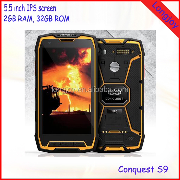Top Military Grade Rugged Waterproof IP68 4G Smartphone 5.5 Inch 2GB RAM 32GB ROM Dual SIM Android 5.1 with NFC GPS