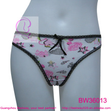 Sexy hot image fashion wonder thong g string from Guangzhou Bestway
