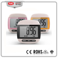 Promotion big screen cheap digital pedometer