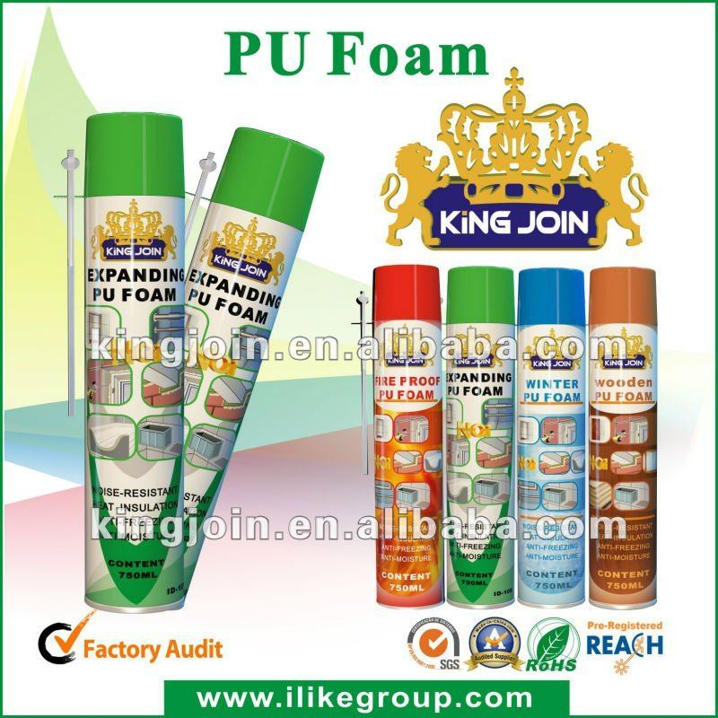 Aerosol Foam Spray , pu foam spray, soundproofing spray foam