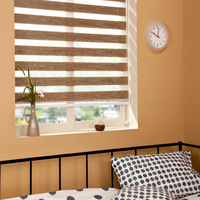 New design curtain fabric/curtain design/zebra blinds made in China