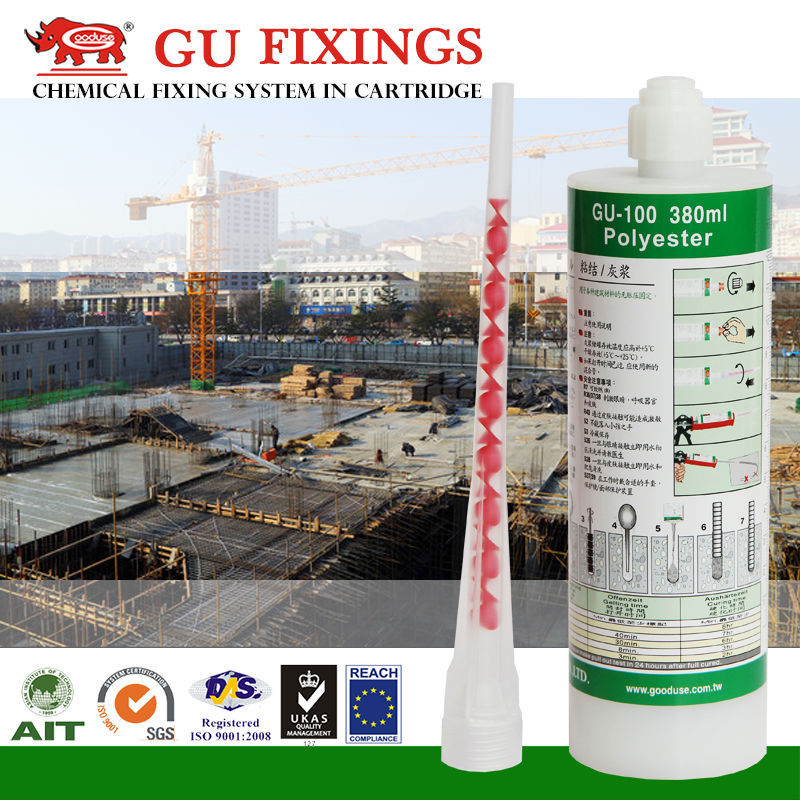 Construction chemical adhesive for anchor bolt m14 m24 m25