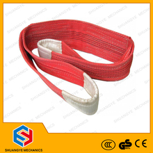 hot sale 2t polyester webbing sling, steel wire cable lifting sling