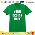 Custom high quality blank clothing for man 3D printing T-Shirts for Promotion