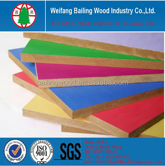 melamine mdf for interior wall decorative paneling