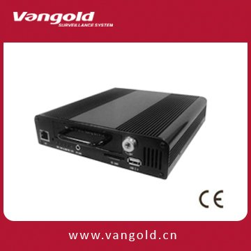 2CH H.264 Realtime High Resolution Vehicle DVR, Car black Box VG-0012 with GPS module