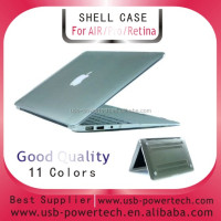 "Shinning crystal Ultra thin shell case for MACBOOK AIR 11.6""/11"" --transparent"