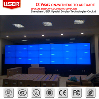 46 Inch DID LCD Video Wall multi display screens video wall standing