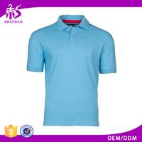 2016 Shandao Factory Direct Clothing High Quality 100% Cotton Short Sleeve Men Shirt