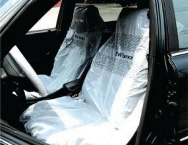 SAR Disposable car seat covers on dispensing roll