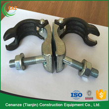 48.3*48.3mm scaffolding double coupler load capacity 90 degree scaffolding clamp coupler