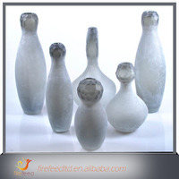 China Wholesale Custom Vase With Bone China Flowers