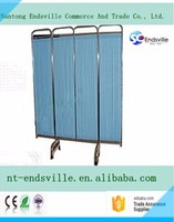 Hospital Furniture wholesaler Hospital Ward folding Bed Screen curtain