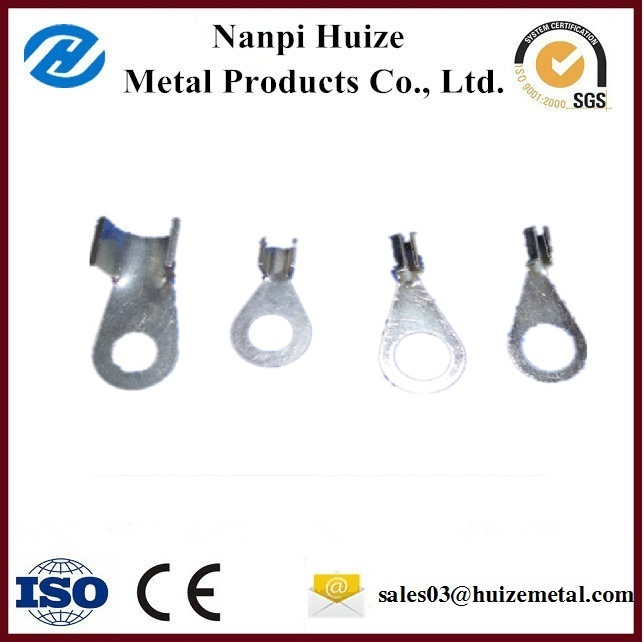 Compression terminal aluminum cable lugs