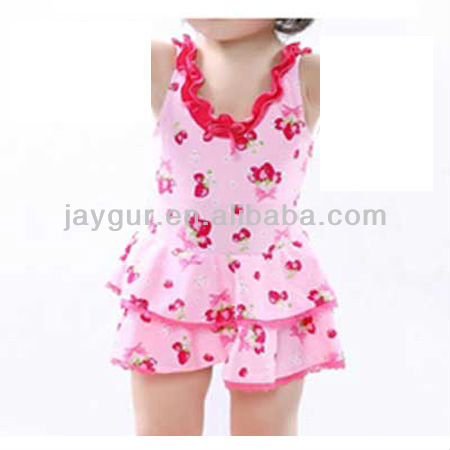 Lovely children bikini swimwear