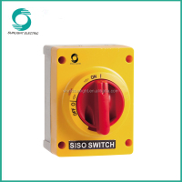 690V 40A IP66 disconnector switch isolating disconnect switch