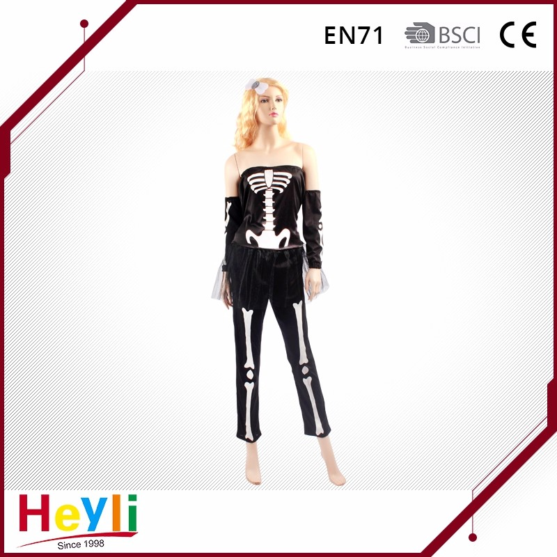 Various Styles Skeleton Adult Halloween costume