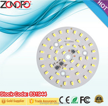Bulb lamp module series 24W led light engine ialuminium led AC module round pcb board for led bulb