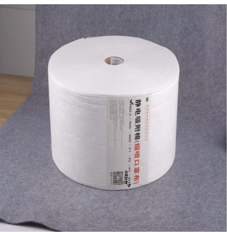 high performance N99 melt-blown microfiber material for mask filter material