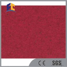 Pure color PVC Homogeneous Floor, Commercial Use vinyl flooring roll