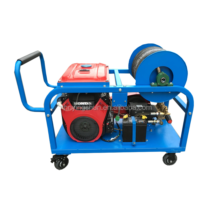 500bar petrol engine high pressure tube cleaning machine