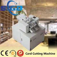 SG-001-X automatic business card cutter with iron box