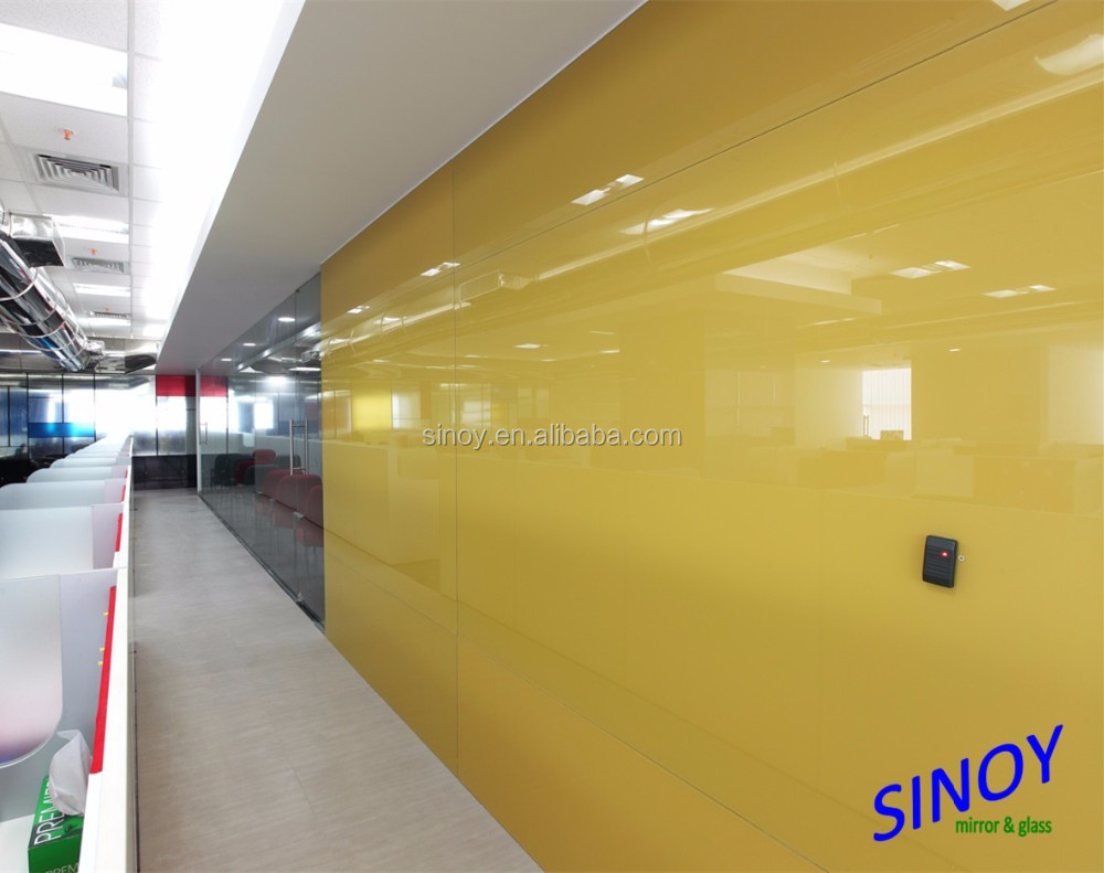4mm colored painted glass 1830mmx1220mm with CATI