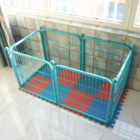high quality folding pet iron metal fence portable dog runs dog kennel