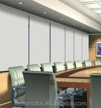 KECO remote controlling automatic roller blind for hotel , office and commercial buildings by a Center Connecting