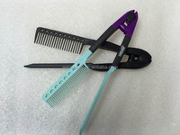 Professional Design Styling Custom Plastic Easy Hair Comb, Hair Comb Brush For Straightening